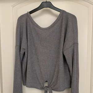 Abercrombie Cozy Long Sleeve Top